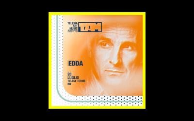 il Fru Fru Tour di Edda passerà per il TAM Fest 2019
