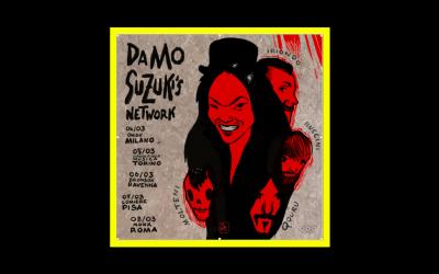 5 date dal vivo per Damo Suzuki's Network