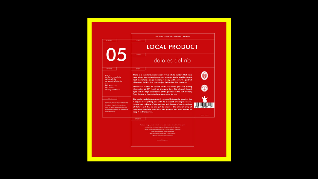 Local Product - Dolores del Río Radioaktiv