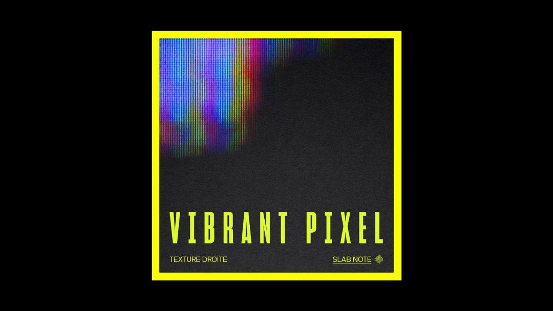 Texture Droite – Vibrant Pixel